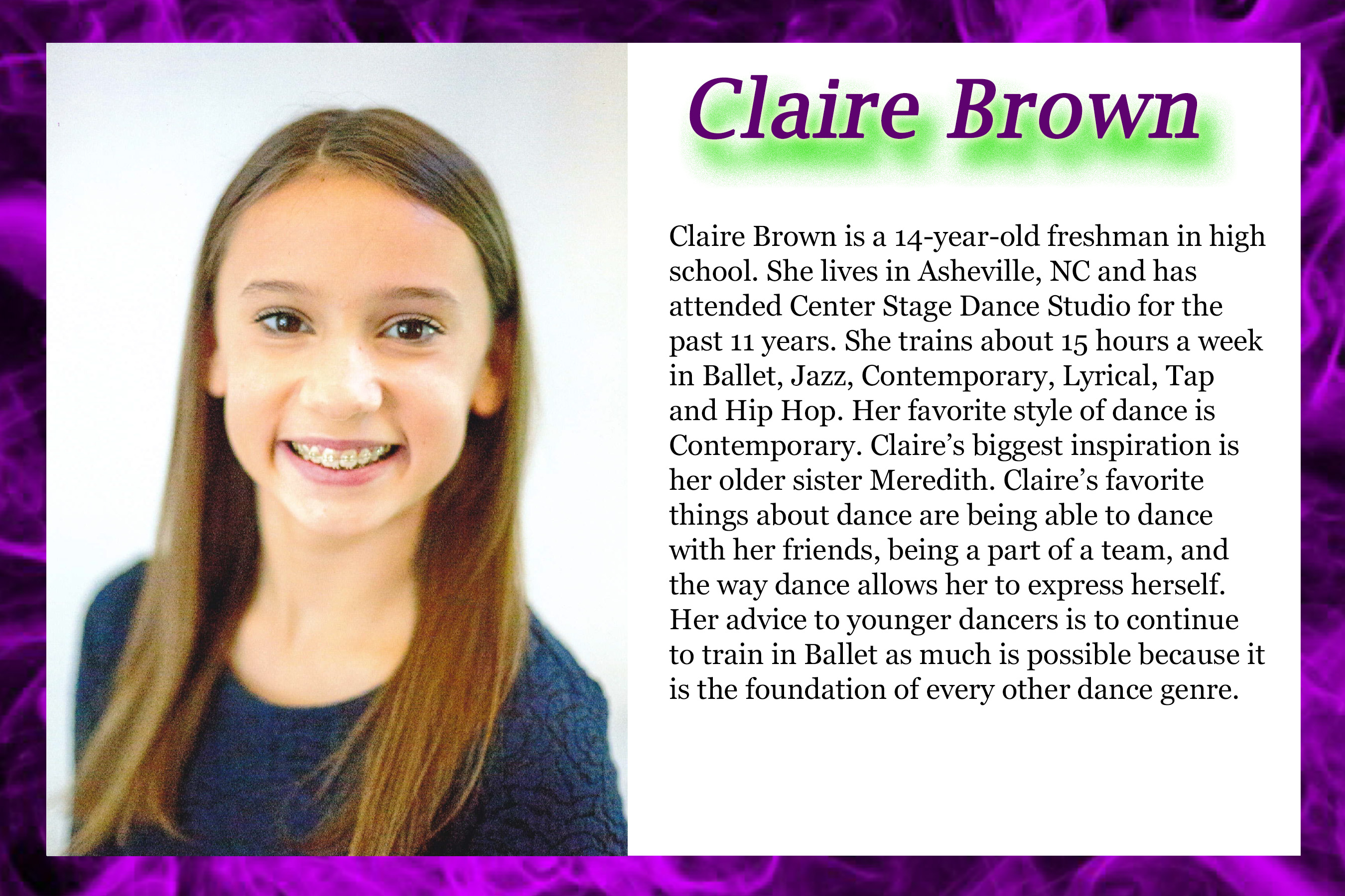 Claire Brown