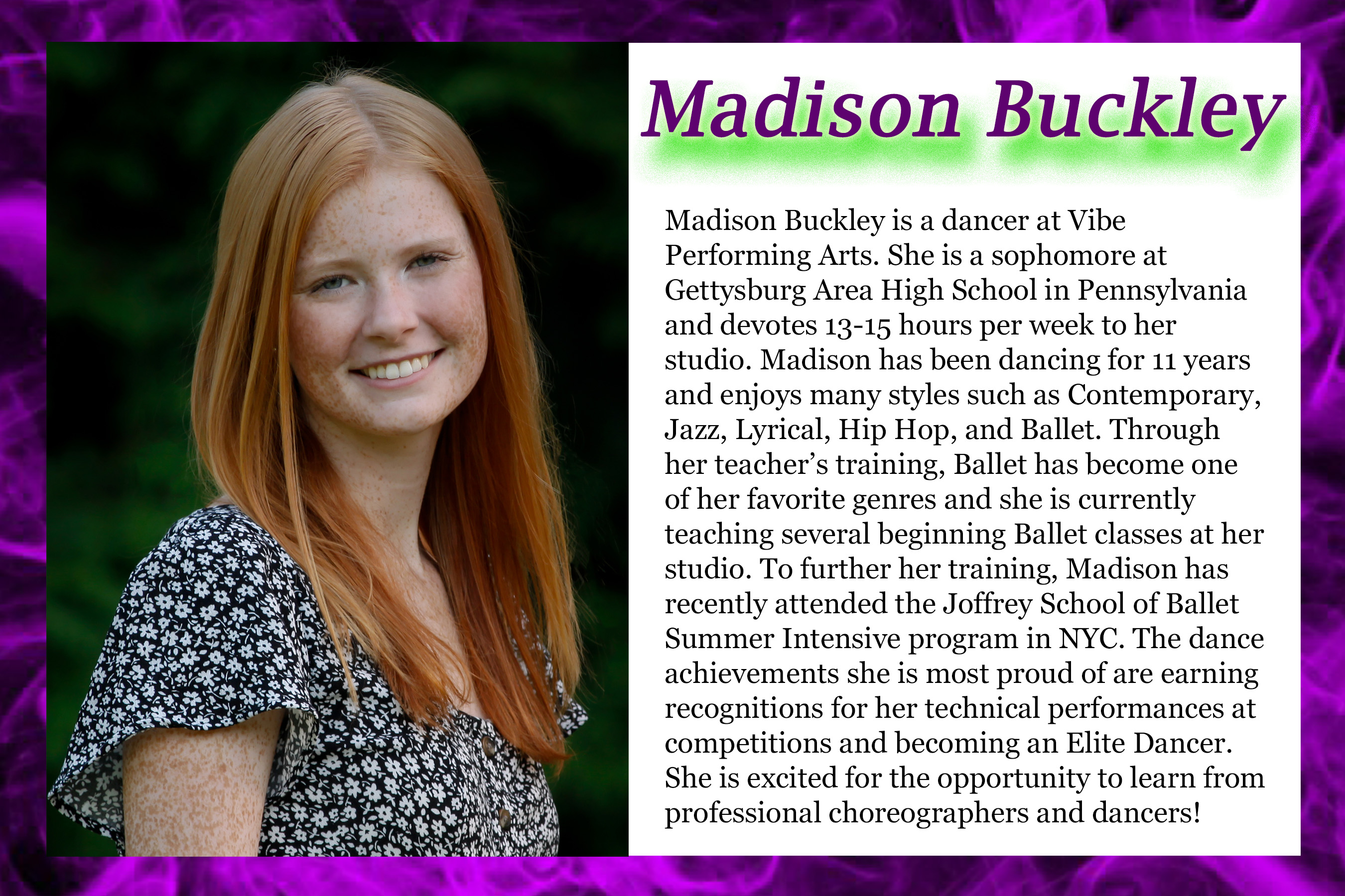 Madison Buckley